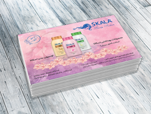 نمونه کار طراحی تراکت اسکالا SKALA - دنیای گرافیک