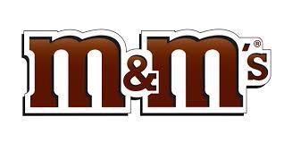 لوگو برند m&m - دنیای گرافیک
