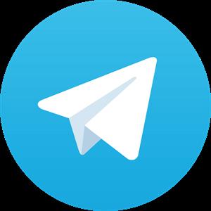 لوگو تلگرام Telegram - دنیای گرافیک